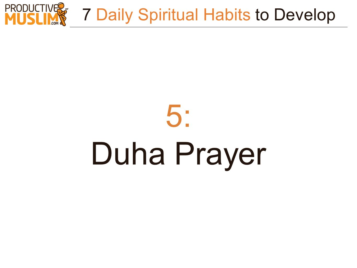 7 Daily Spiritual Habits to Develop