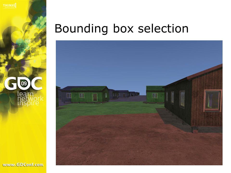 Bounding box selection
