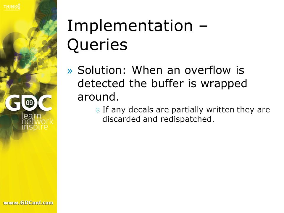 Implementation – Queries