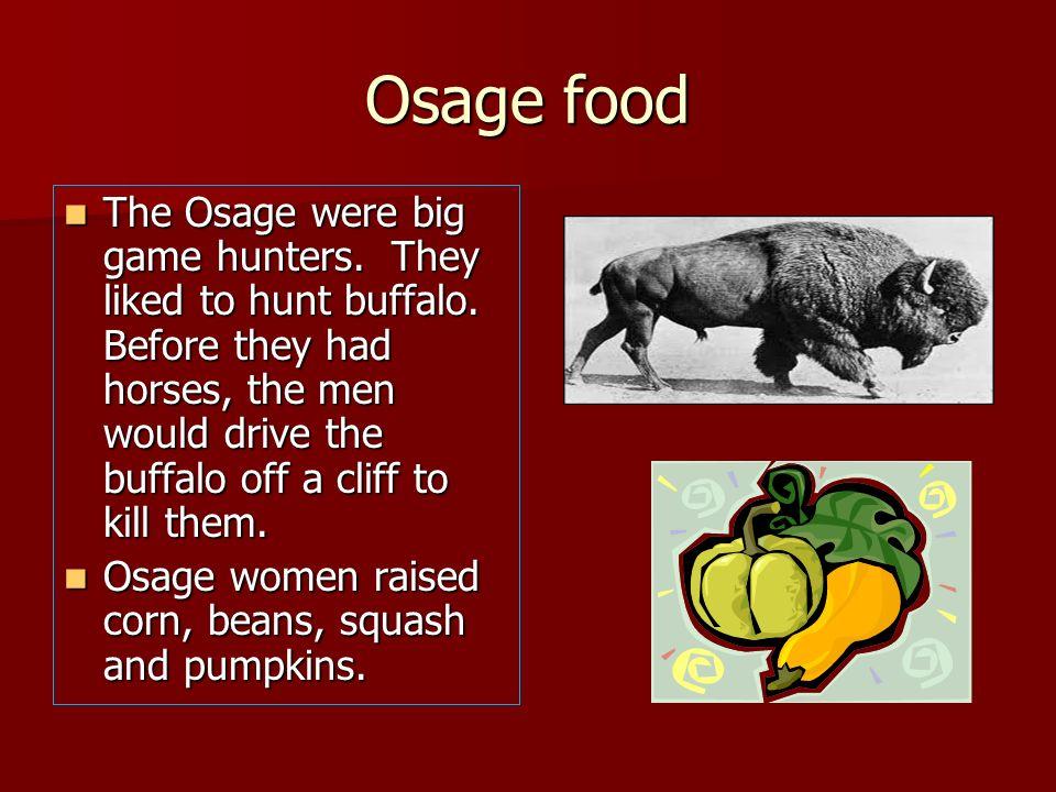 Osage food