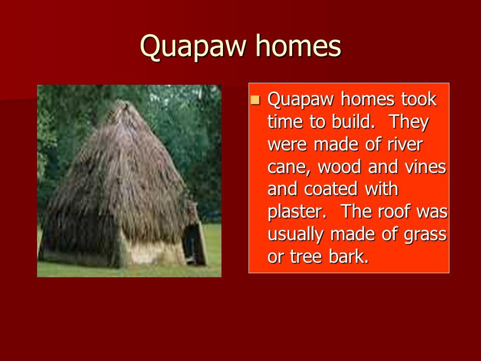 Quapaw homes