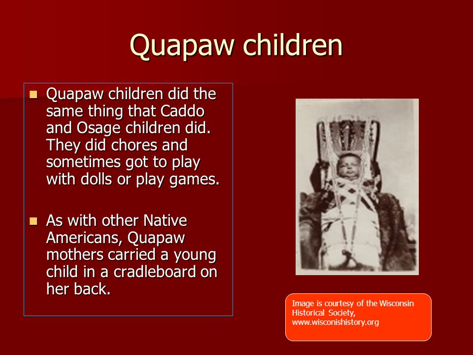Quapaw children