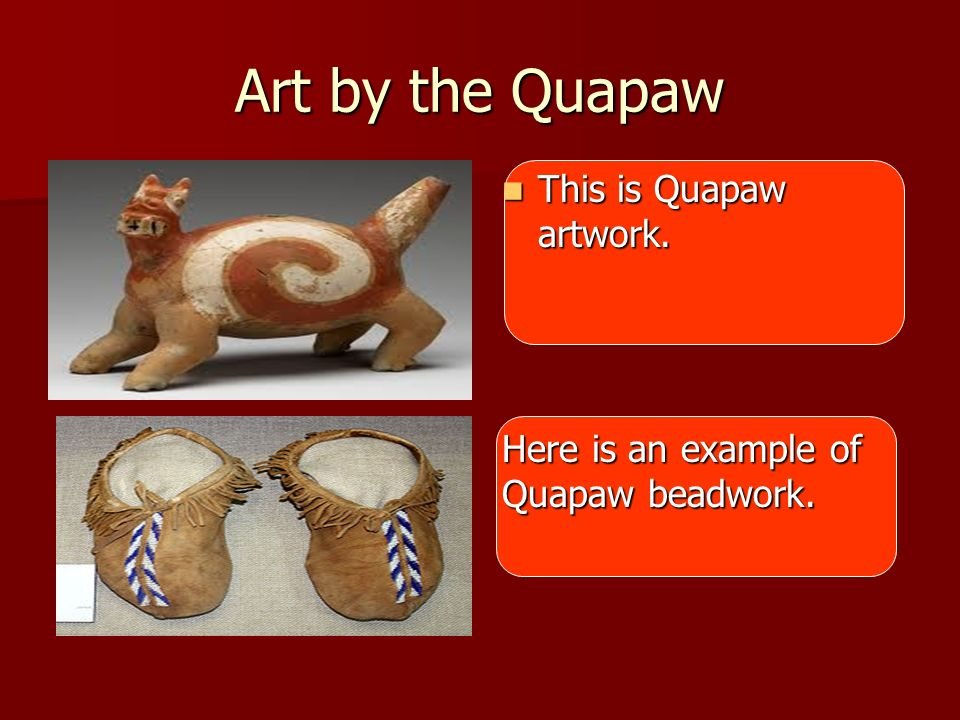 Art by the Quapaw This is Quapaw artwork.