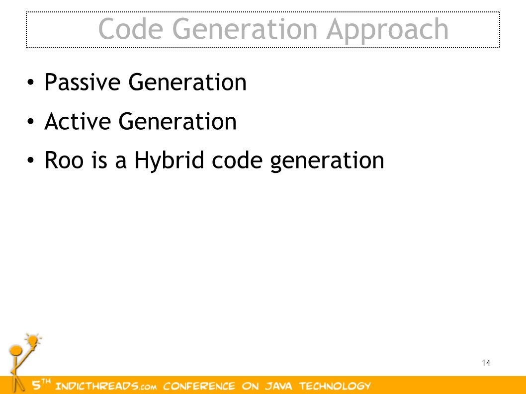 Code Generation Approach
