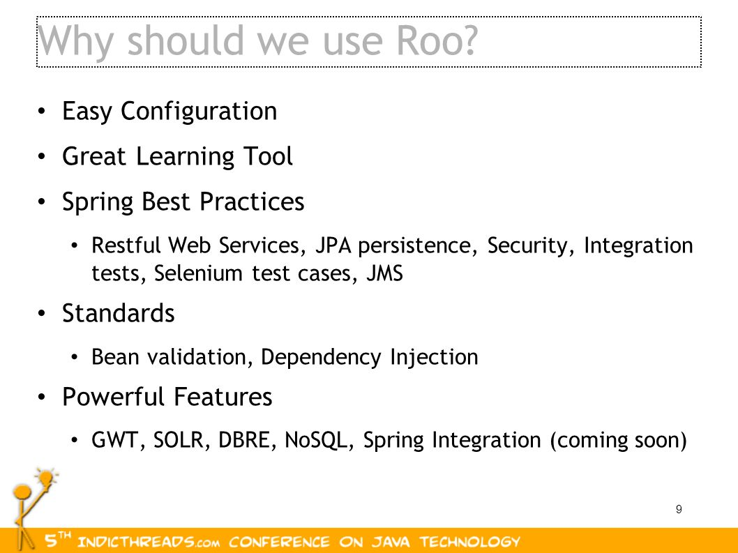 Why should we use Roo Easy Configuration Great Learning Tool