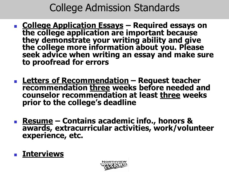 ap essay standards The common application has announced that the 2018-2019 personal essay  writing prompts will be the same as the seven 2.