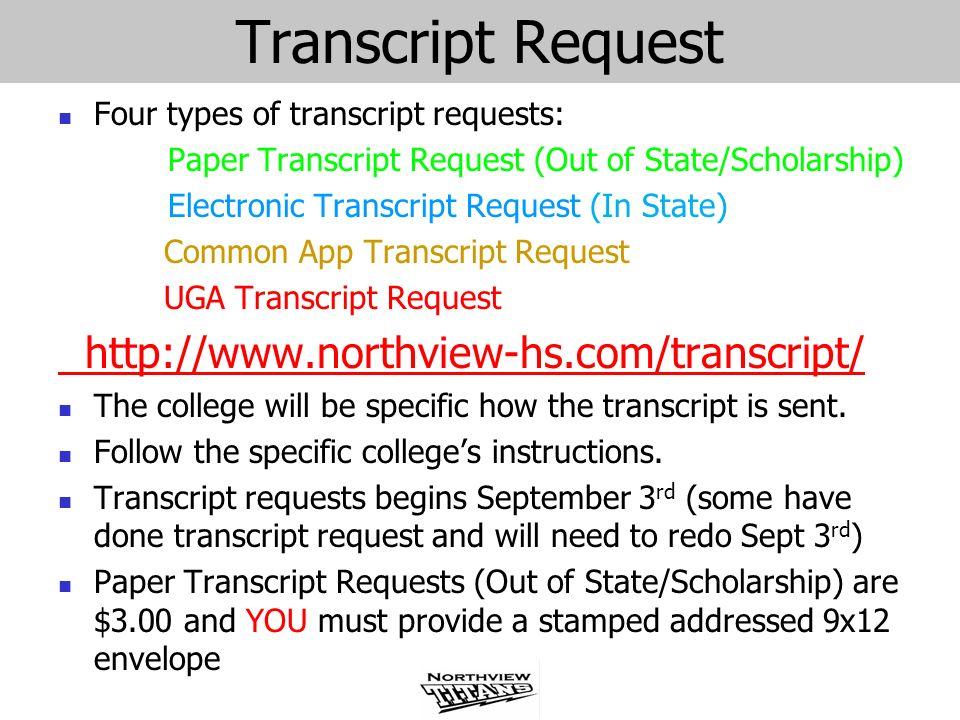Transcript Request http://www.northview-hs.com/transcript/