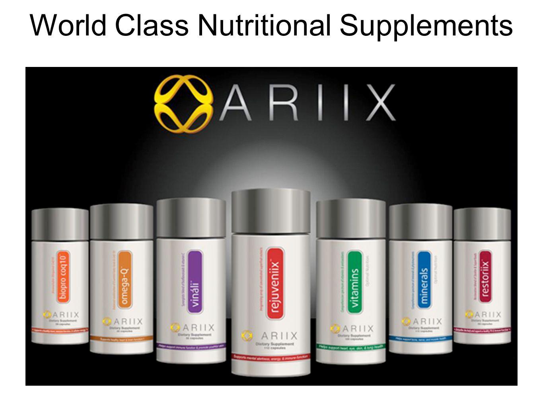 World Class Nutritional Supplements