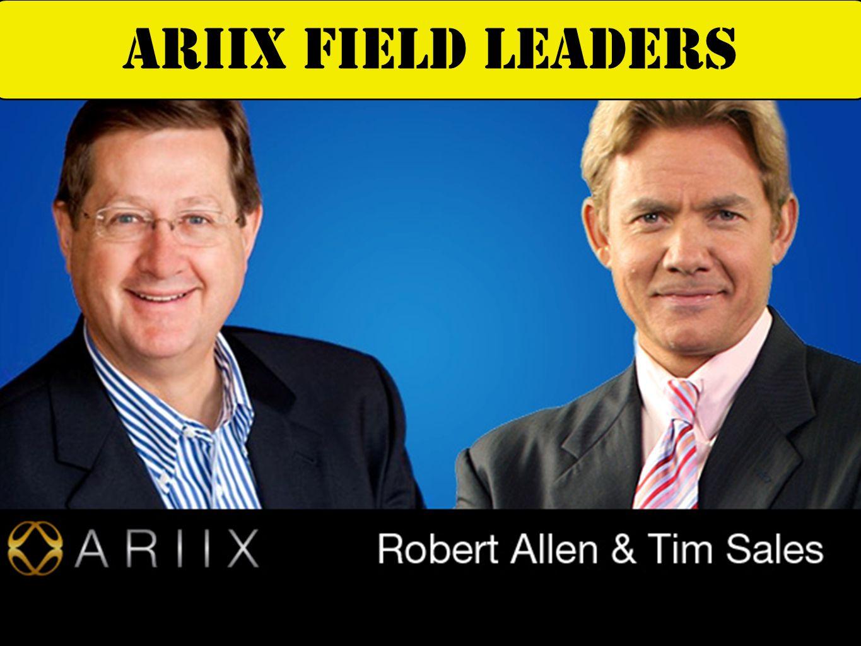 ARIIX FIELD LEADERS