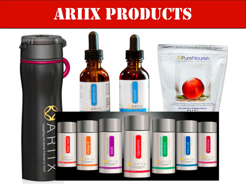 ARIIX products