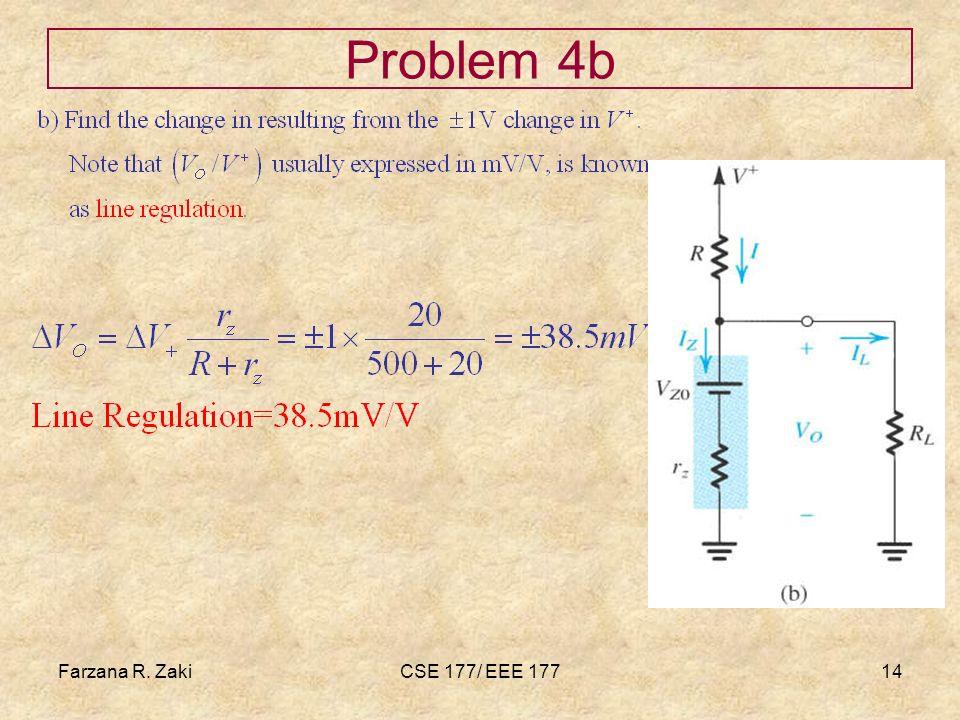 Farzana Rahmat zaki Problem 4b Farzana R. Zaki CSE 177/ EEE 177