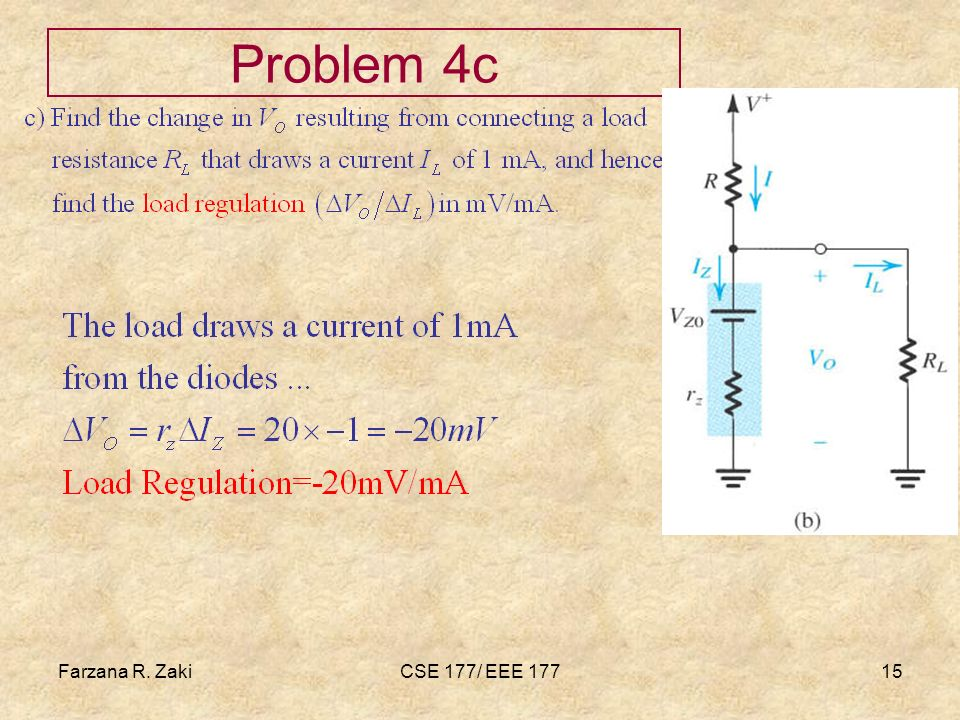 Farzana Rahmat zaki Problem 4c Farzana R. Zaki CSE 177/ EEE 177