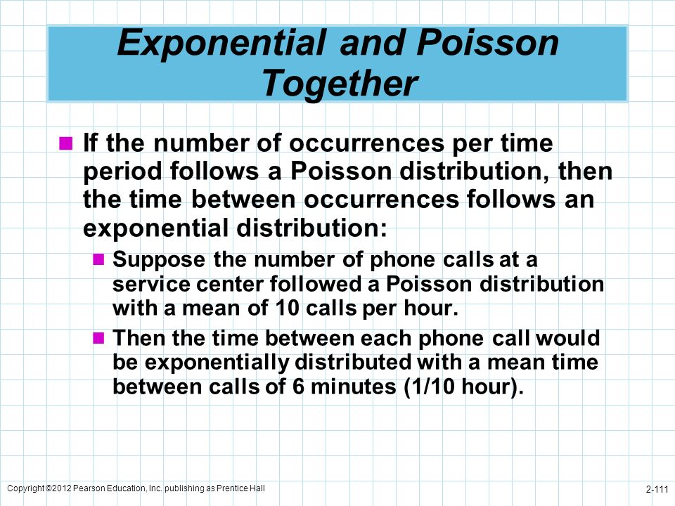 Exponential and Poisson Together