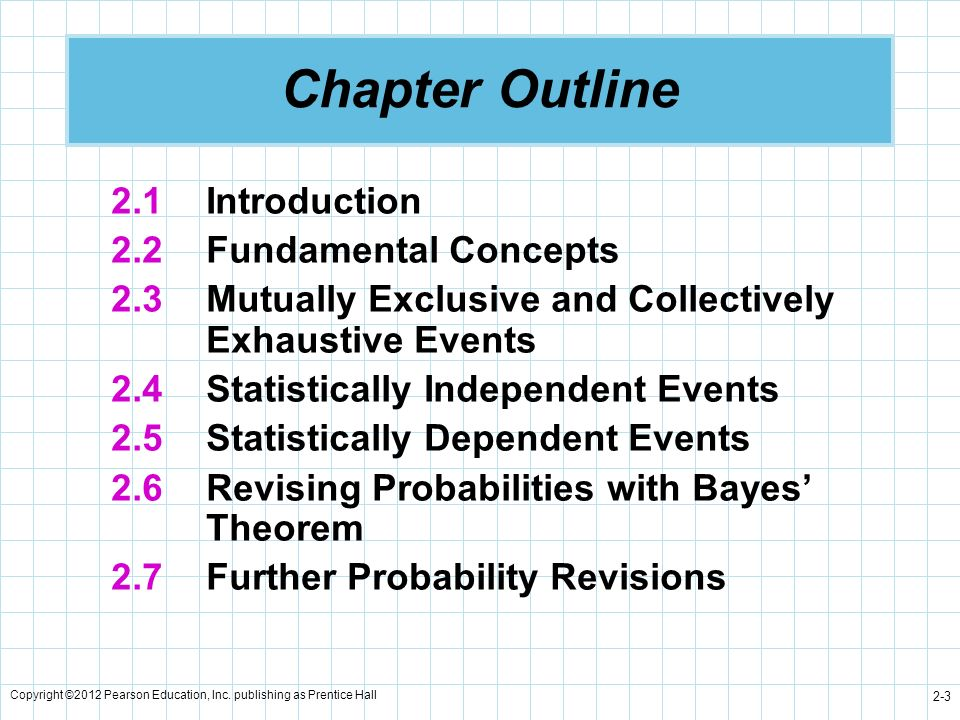 Chapter Outline 2.1 Introduction 2.2 Fundamental Concepts