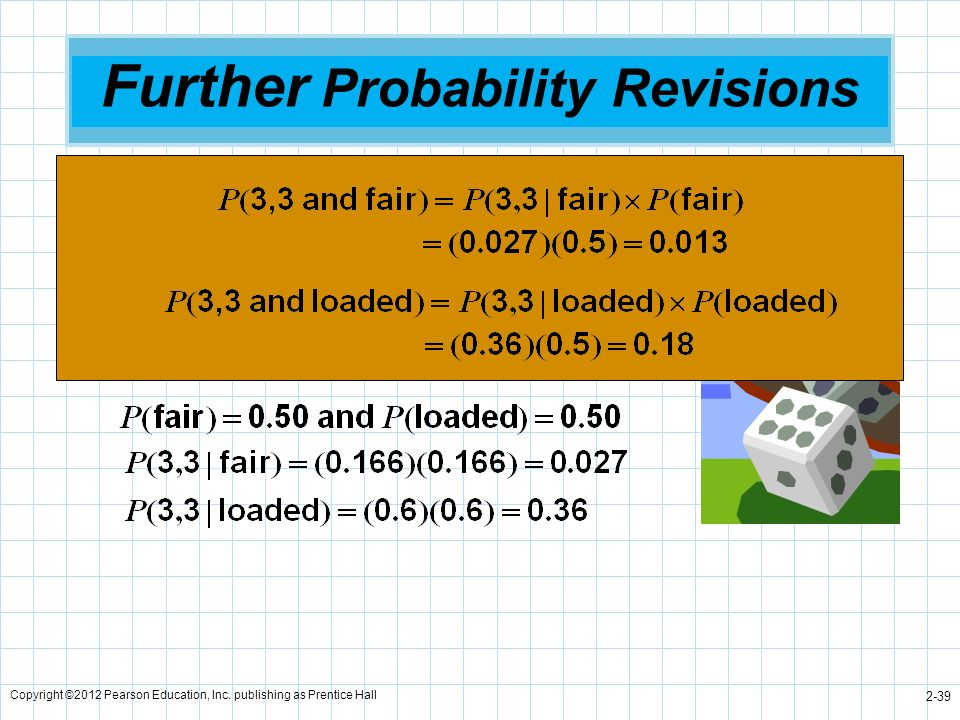 Further Probability Revisions