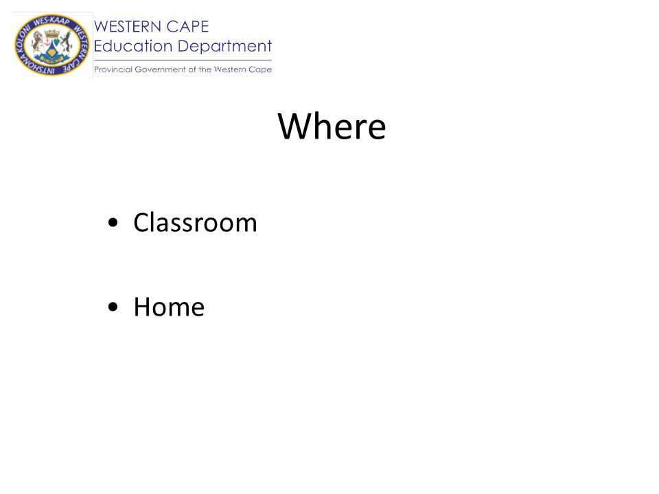 Where Classroom Home