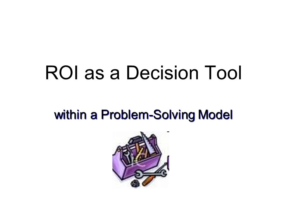 within a Problem-Solving Model