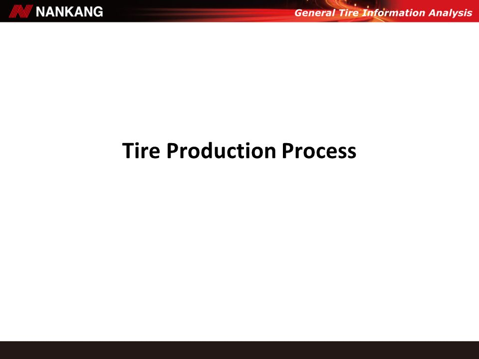 Tire Production Process