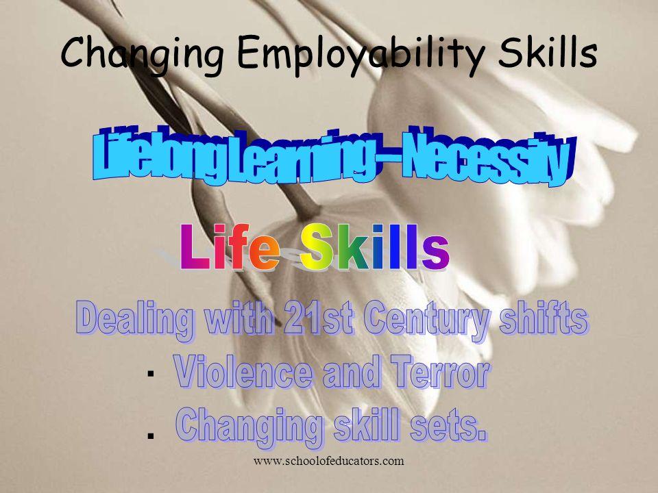 Changing Employability Skills