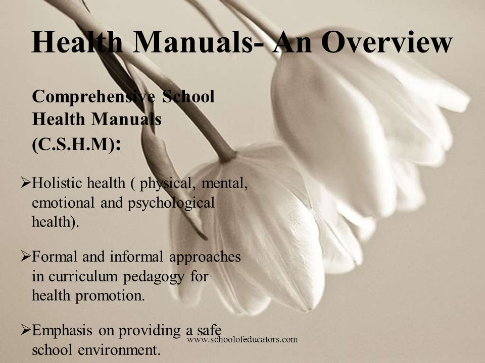 Health Manuals- An Overview