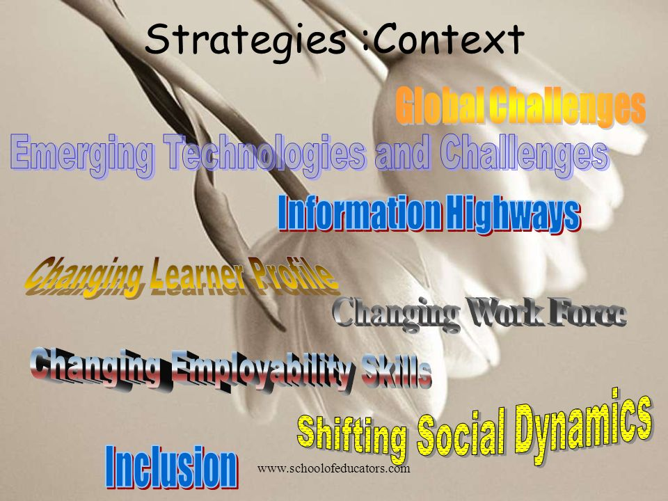 Strategies :Context Global Challenges