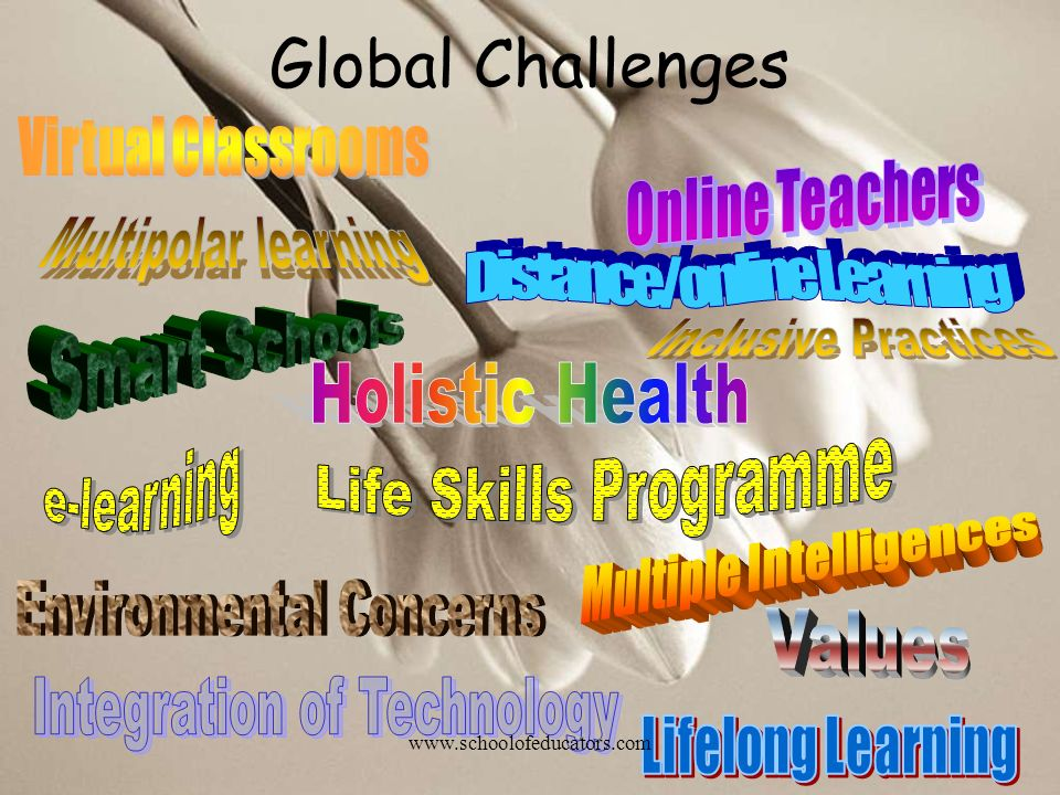 Global Challenges Virtual Classrooms Online Teachers
