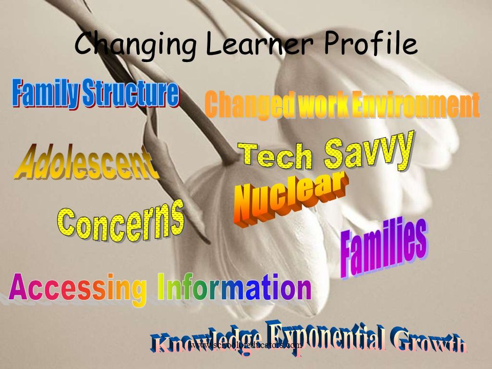 Changing Learner Profile