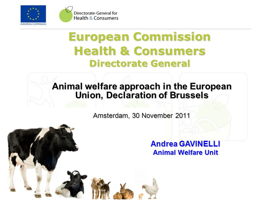 European Commission Health & Consumers Directorate General