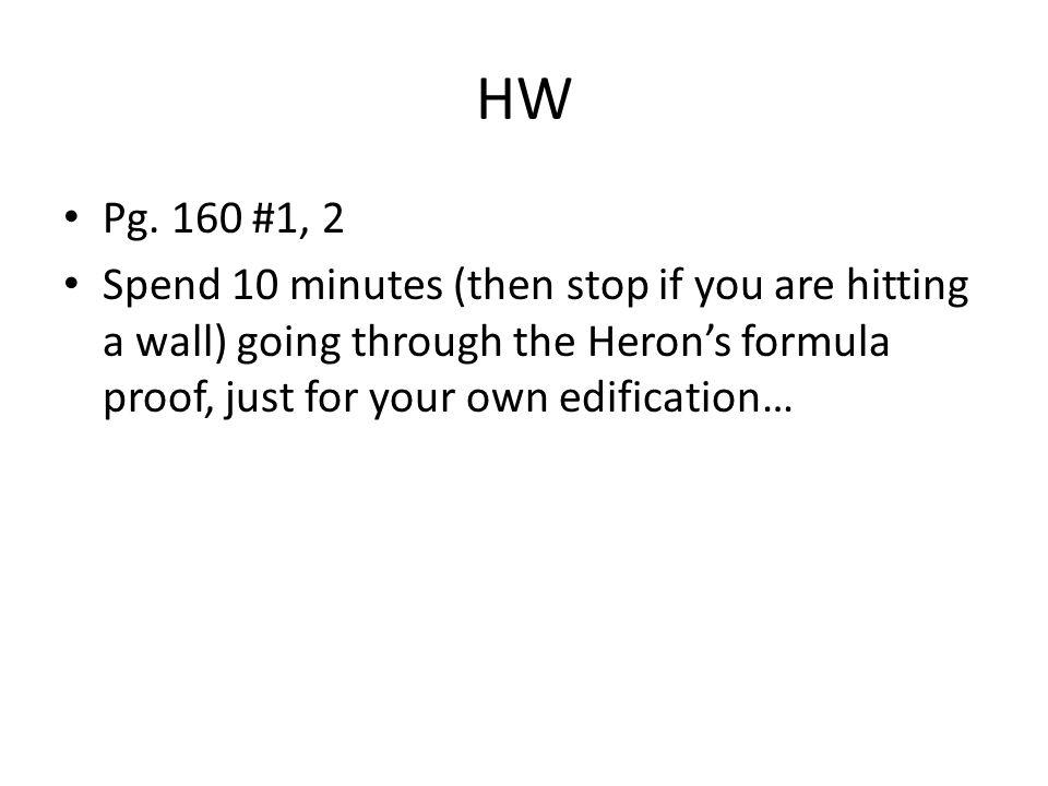 HW Pg. 160 #1, 2.