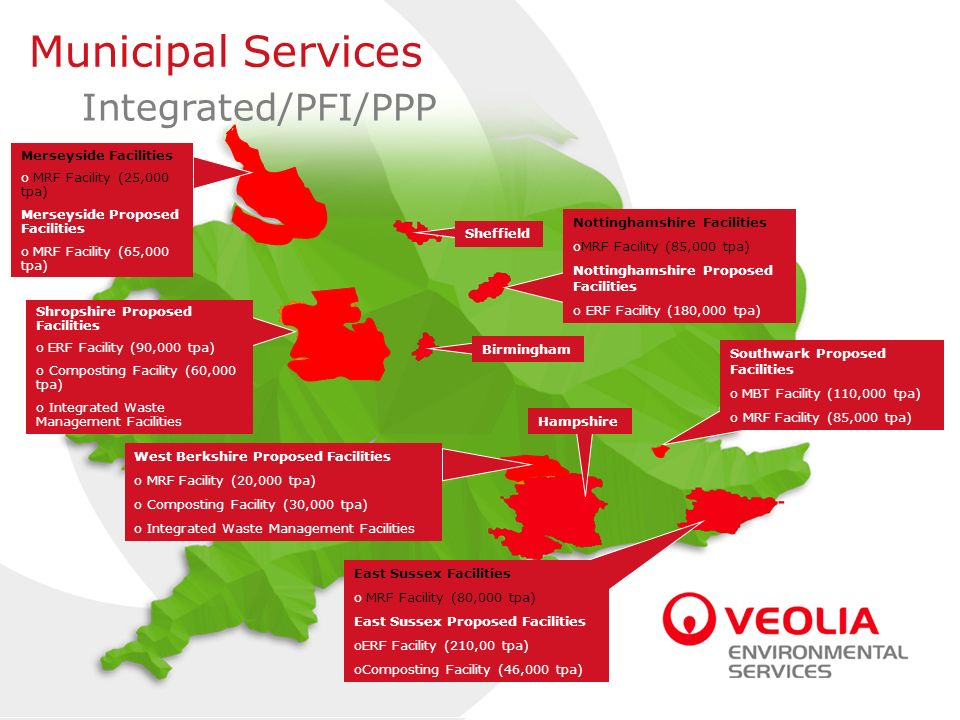 Municipal Services Integrated/PFI/PPP Merseyside Facilities