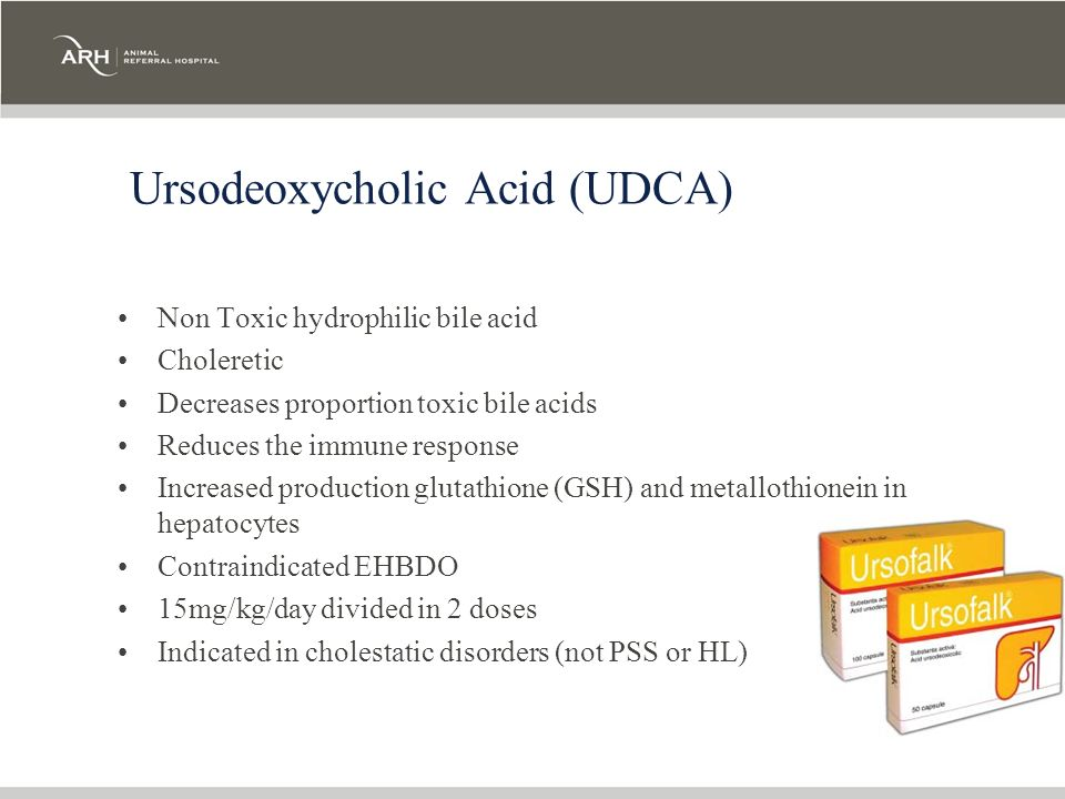 Ursodeoxycholic Acid (UDCA)