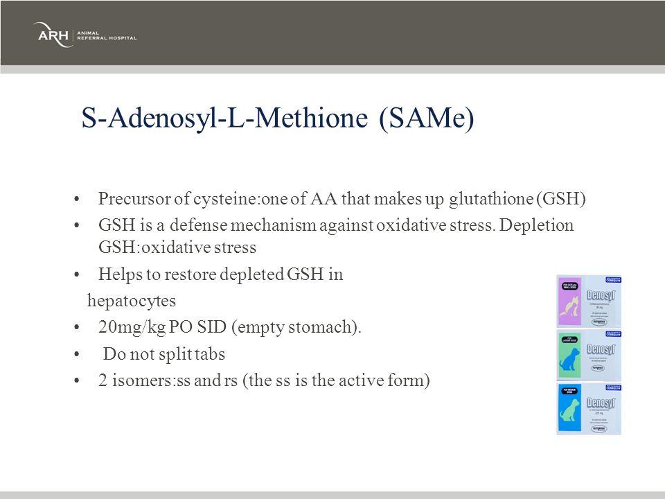 S-Adenosyl-L-Methione (SAMe)