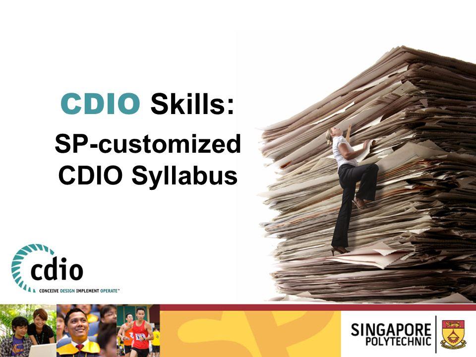 SP-customized CDIO Syllabus