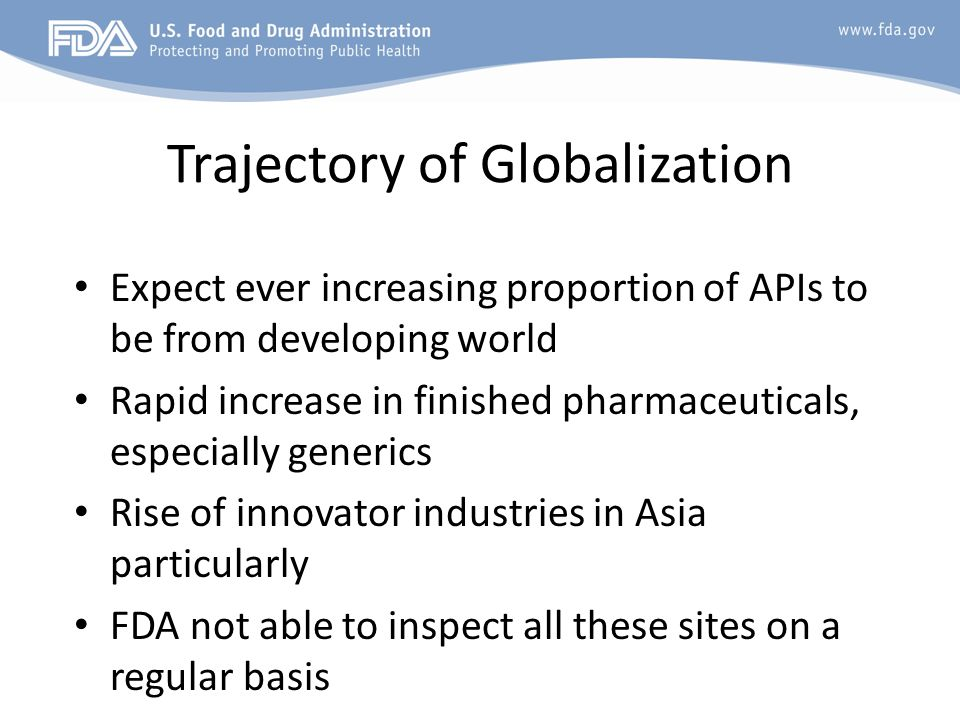 Trajectory of Globalization
