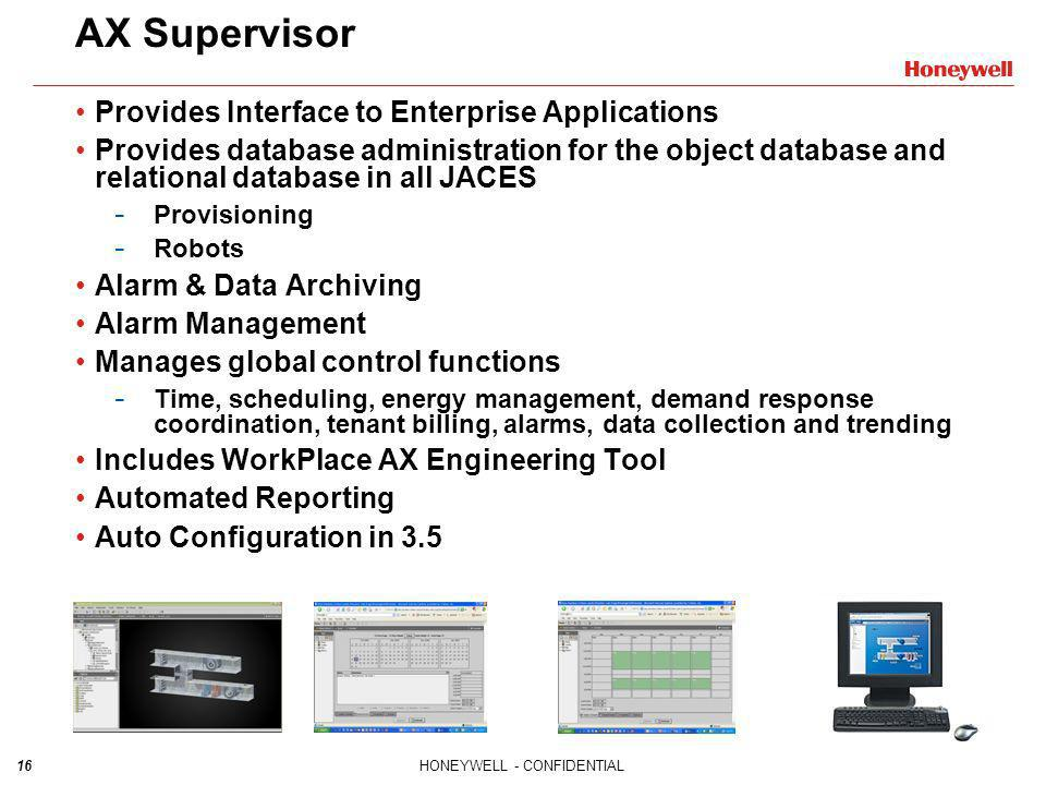 AX Supervisor Provides Interface to Enterprise Applications
