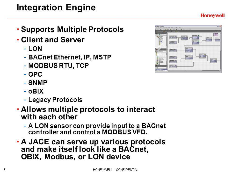 Integration Engine Supports Multiple Protocols Client and Server