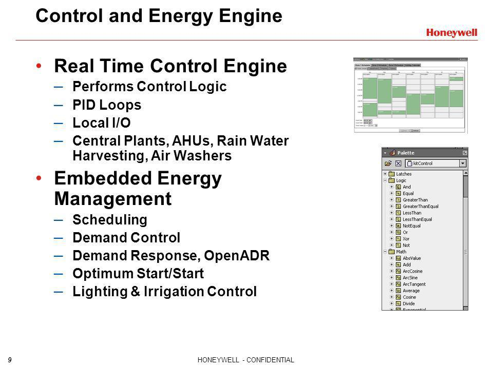 Control and Energy Engine