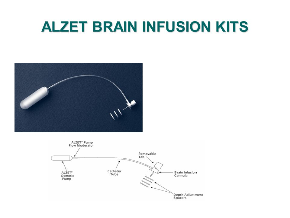ALZET BRAIN INFUSION KITS