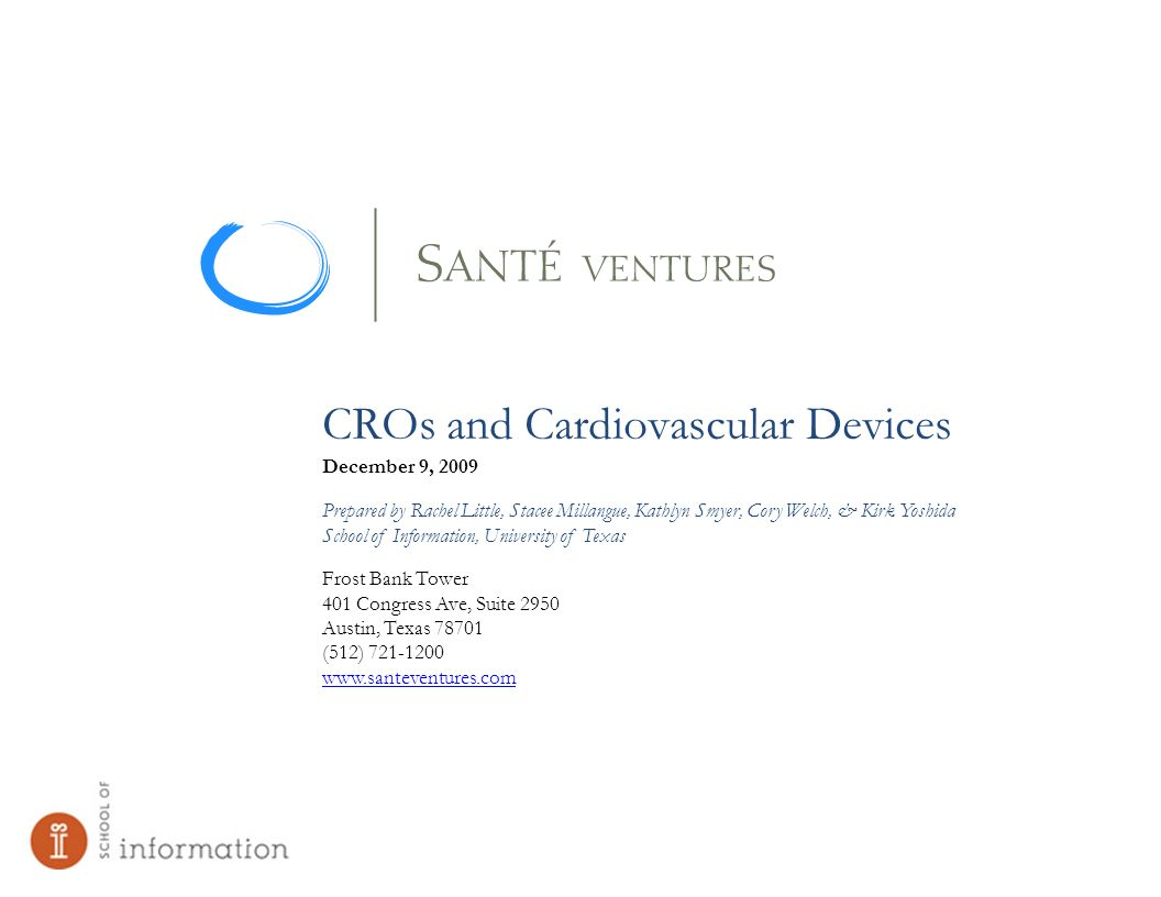 CROs and Cardiovascular Devices