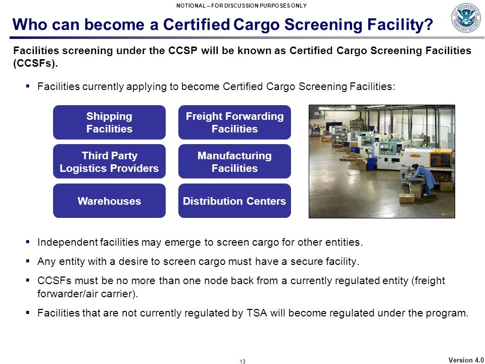 Who can become a Certified Cargo Screening Facility