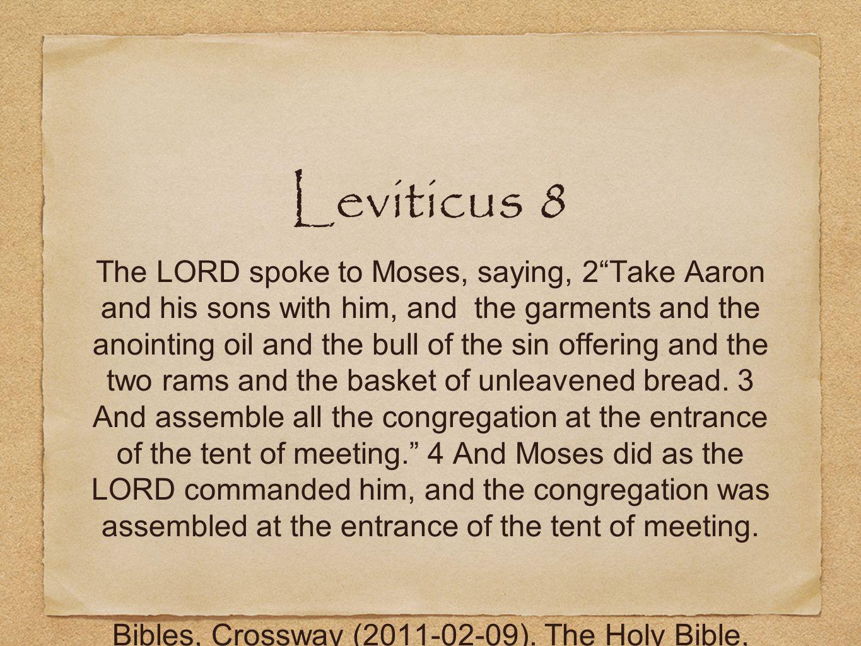 Leviticus 8