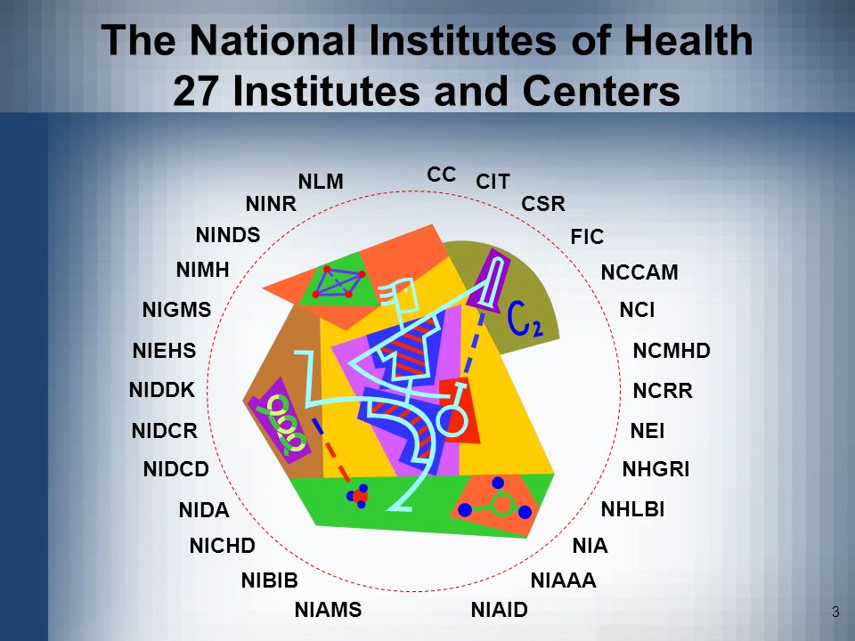 The National Institutes of Health 27 Institutes and Centers
