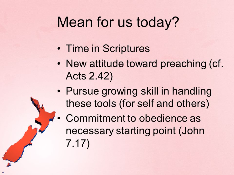 Mean for us today Time in Scriptures