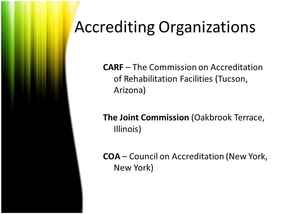 Accrediting Organizations