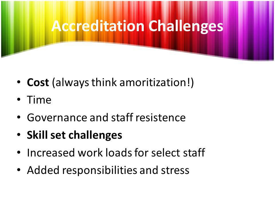 Accreditation Challenges