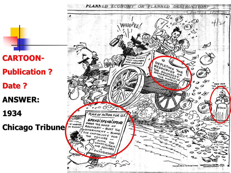 CARTOON- Publication Date ANSWER: 1934 Chicago Tribune