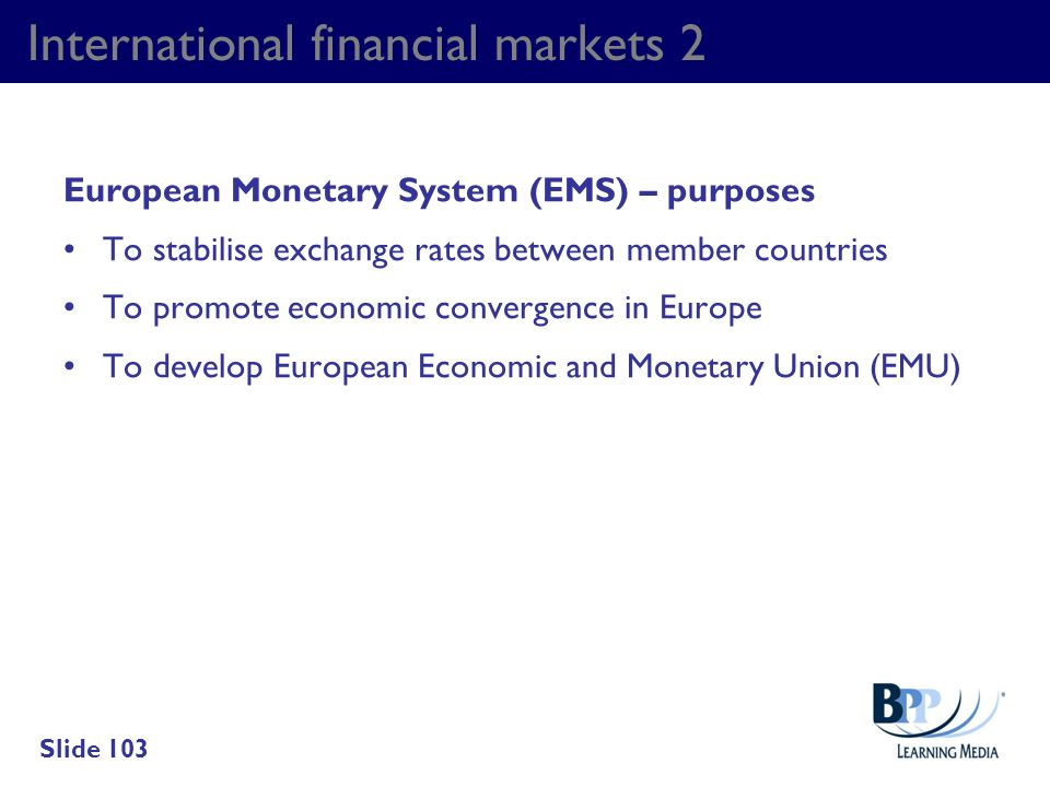 International financial markets 2