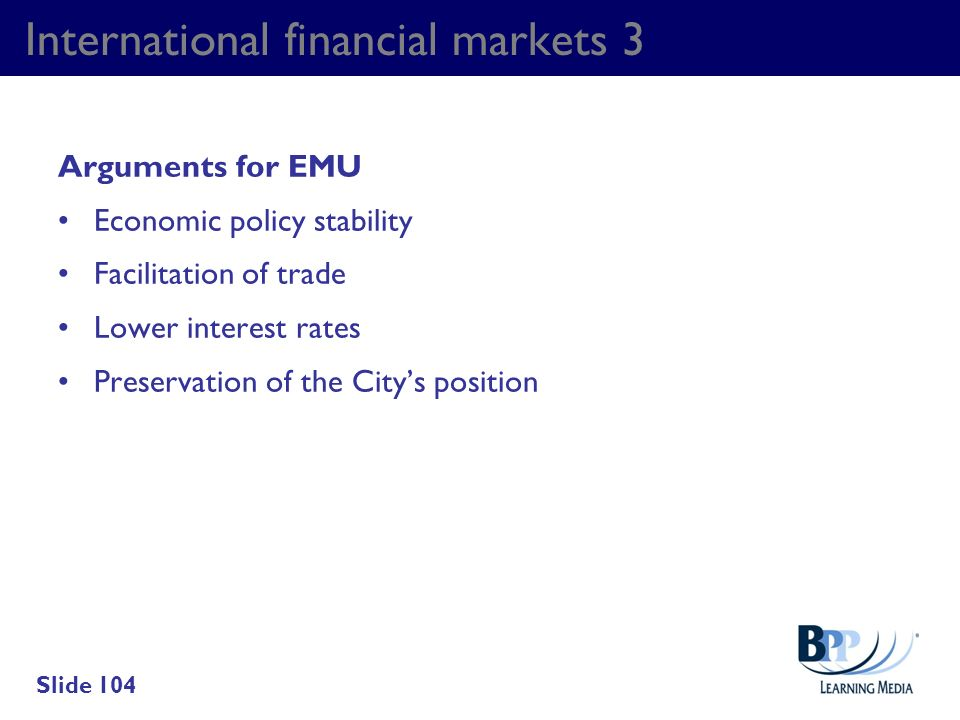 International financial markets 3