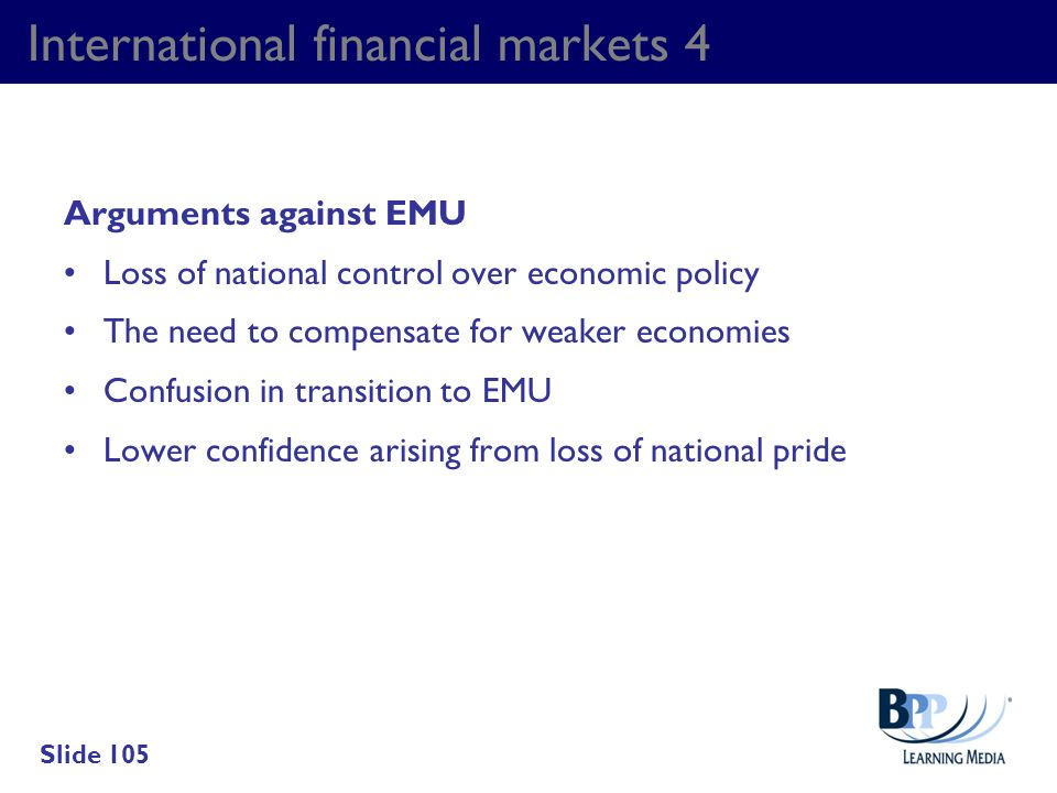 International financial markets 4
