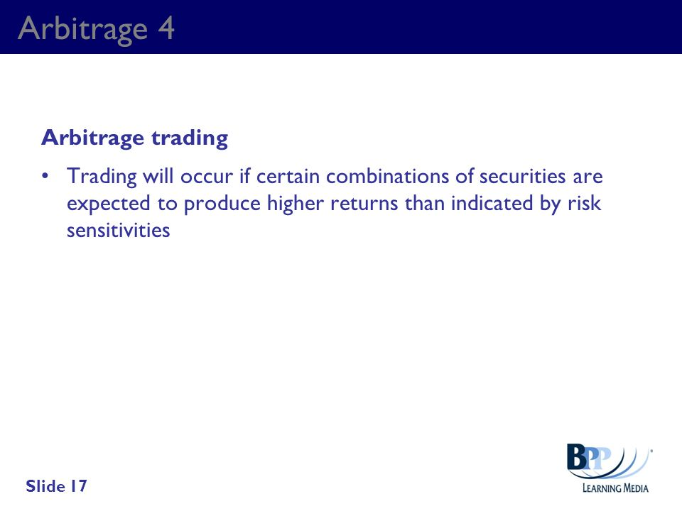 Arbitrage 4 Arbitrage trading